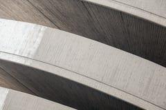 Abstrakt konkret modern arkitektur Royaltyfria Foton
