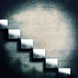 abstrakt konkret trappa Arkivfoto