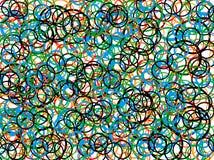 abstrakt konst stock illustrationer