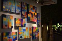 abstrakt konst Arkivfoton