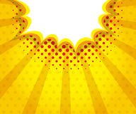 Abstrakt konst för pop för bubbla för bangmellanrumsanförande, humorbokbakgrund Royaltyfria Bilder