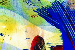 abstrakt konstbakgrund Arkivbild