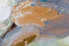abstrakt konstbakgrund Färgtextur Fragment av konstverk Arkivbilder