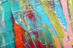 abstrakt konstbakgrund målad bakgrundshand Arkivfoton