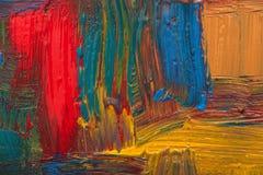 abstrakt konstbakgrund målad bakgrundshand Arkivbilder