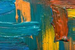 abstrakt konstbakgrund målad bakgrundshand Royaltyfria Foton