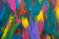 abstrakt konstbakgrund Målad hand Arkivfoton