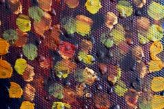 abstrakt konstbakgrund Oljemålning på kanfas Hand-målat Samtida konst Fragment av konstverk royaltyfria bilder