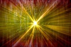 Abstrakt konstnärlig Digital energi exploderar slätt in i en färgrik bakgrund för konstverk vektor illustrationer