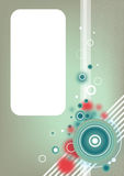 abstrakt konstnärlig vektorwallpaper Royaltyfri Fotografi