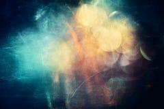 Abstrakt konstnärligt modernt slätt mångfärgat galaxkonstverk stock illustrationer