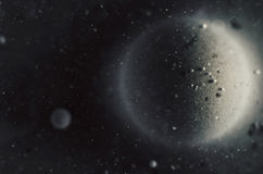 Abstrakt kosmosbakgrund Arkivbild