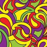 Abstrakt krabb bakgrund i 60-talstil Geometriskt skraj smattrande royaltyfri illustrationer
