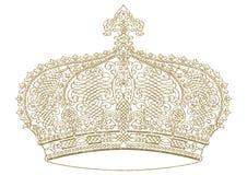 abstrakt krona Arkivbilder