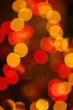 abstrakt kropkuje pomarańczową czerwień Obraz Stock