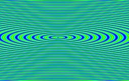 abstrakt krusningsvibration Arkivbilder