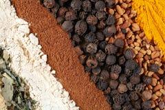 abstrakt kryddor Arkivfoton