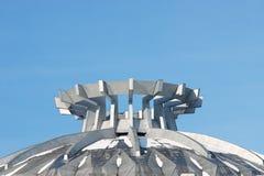 abstrakt kupoltaköverkant Arkivfoto