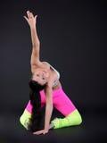 abstrakt kvinna för dansillustrationinc Arkivfoton