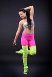 abstrakt kvinna för dansillustrationinc Royaltyfri Fotografi