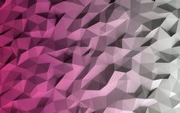 Abstrakt låg poly geometrisk bakgrund royaltyfri illustrationer