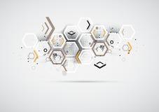 Abstrakt lösning för internetdatateknikaffär