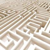abstrakt labyrint 3d Royaltyfri Bild