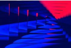 abstrakt labyrint Royaltyfri Fotografi