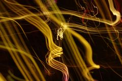 abstrakt lampa Royaltyfria Bilder