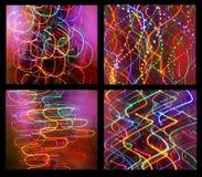 Abstrakt lampor Royaltyfri Foto