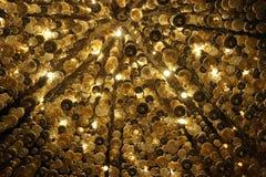 Abstrakt lampor Arkivbild
