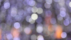 abstrakt lampor stock video