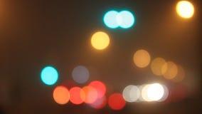 abstrakt lampor lager videofilmer