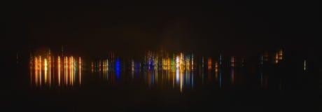 abstrakt lampor Royaltyfria Bilder
