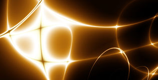 abstrakt lampor för fractal 02e Arkivfoto