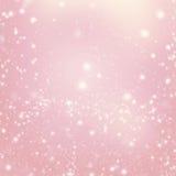 abstrakt lampor som sparkling Jul blänker bakgrund Glat C Arkivfoton