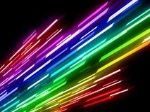 Abstrakt laser tänder bakgrund Stock Illustrationer