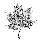 abstrakt leaf Arkivbild