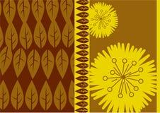 abstrakt leaf royaltyfri illustrationer