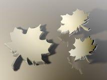 abstrakt leaf Royaltyfria Bilder