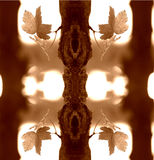 abstrakt leafs royaltyfri illustrationer
