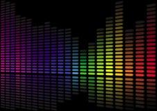 abstrakt level ljud 3d Royaltyfria Foton