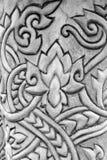 abstrakt linii wzór na cement ścianie Fotografia Stock