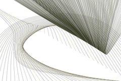 Abstrakt linje & geometrisk modell för kurva, färgrikt & konstnärligt för grafisk design Bakgrund, teckning, kanfas & rengöringsd stock illustrationer