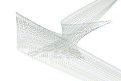 Abstrakt linje & geometrisk modell för kurva, färgrikt & konstnärligt för grafisk design Mall, bakgrund, effekt & kanfas vektor illustrationer