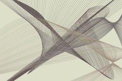 Abstrakt linje & geometrisk modell för kurva, färgrikt & konstnärligt för grafisk design Vektor, tapet, begrepp & illustration royaltyfri illustrationer