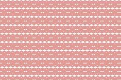 Abstrakt linje och geometrisk formmodell med gammal rosa pastell c Arkivbild