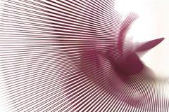 abstrakt linje pink Arkivbild