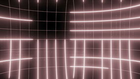 Abstrakt linje röd gräns för rörelsebakgrundsÖGLA arkivfilmer