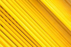 abstrakt linje yellow Royaltyfri Foto